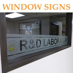Window Signs & Graphics