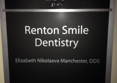Renton Smile ADA Room Sign (1)