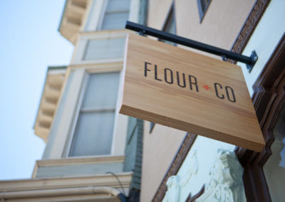 Flour Sign