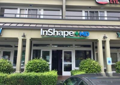 InShape+MD Channel Letters