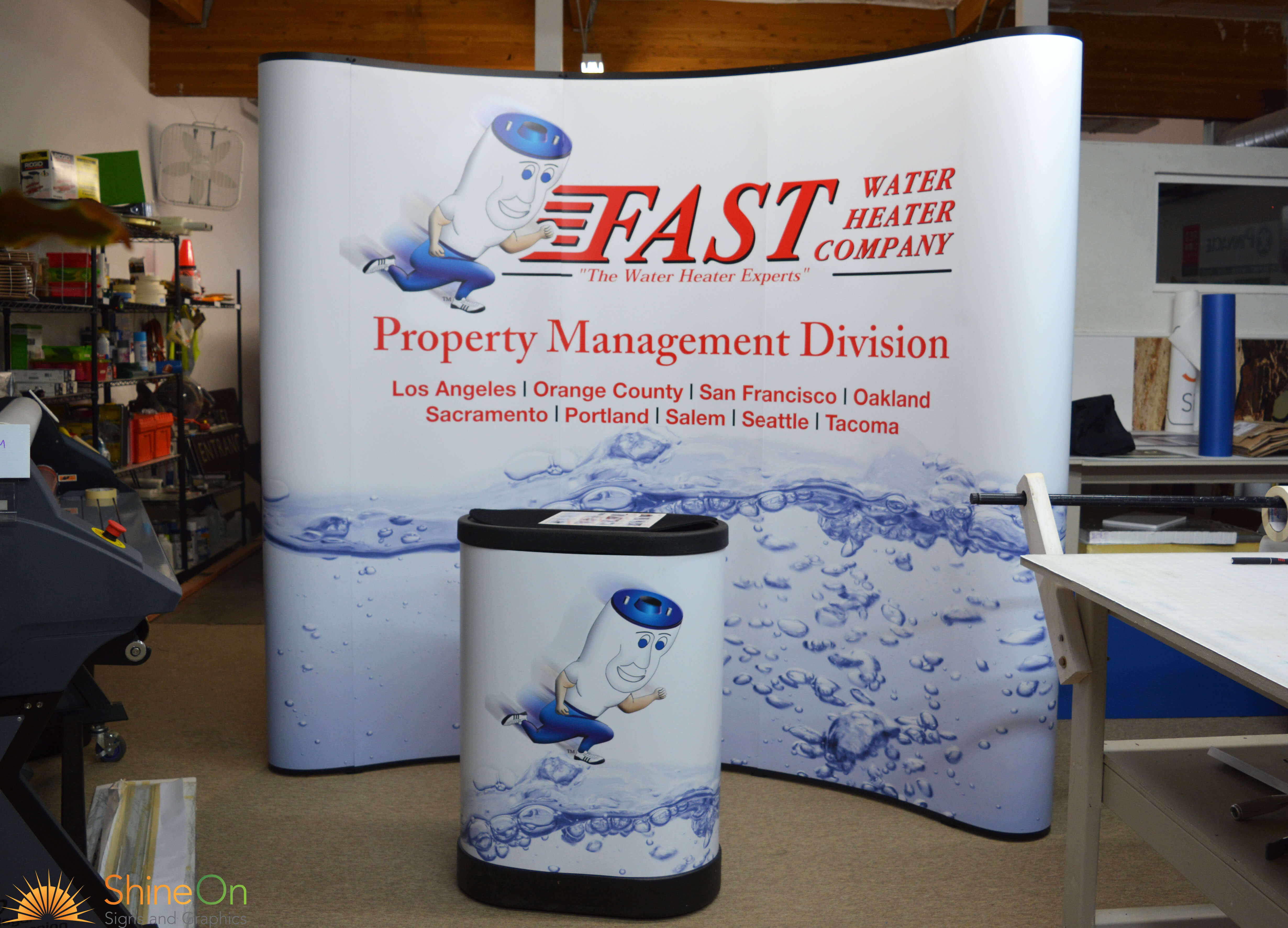 Trade Show Signs By Shine On Renton Kent Bellevue