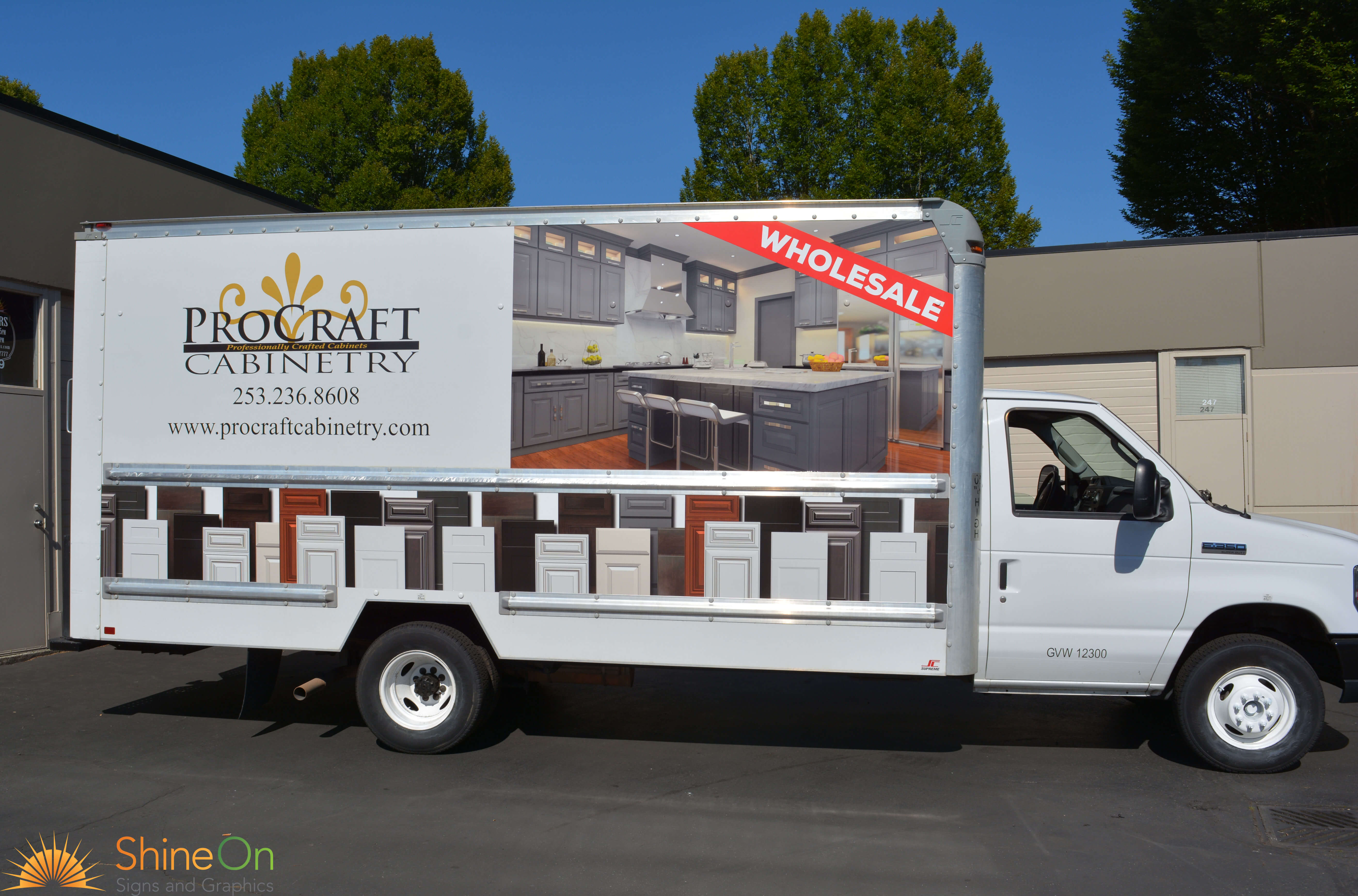 Vehicle Graphics | Shine On Signs | Renton and Surrounding