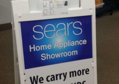Sears A-frame board