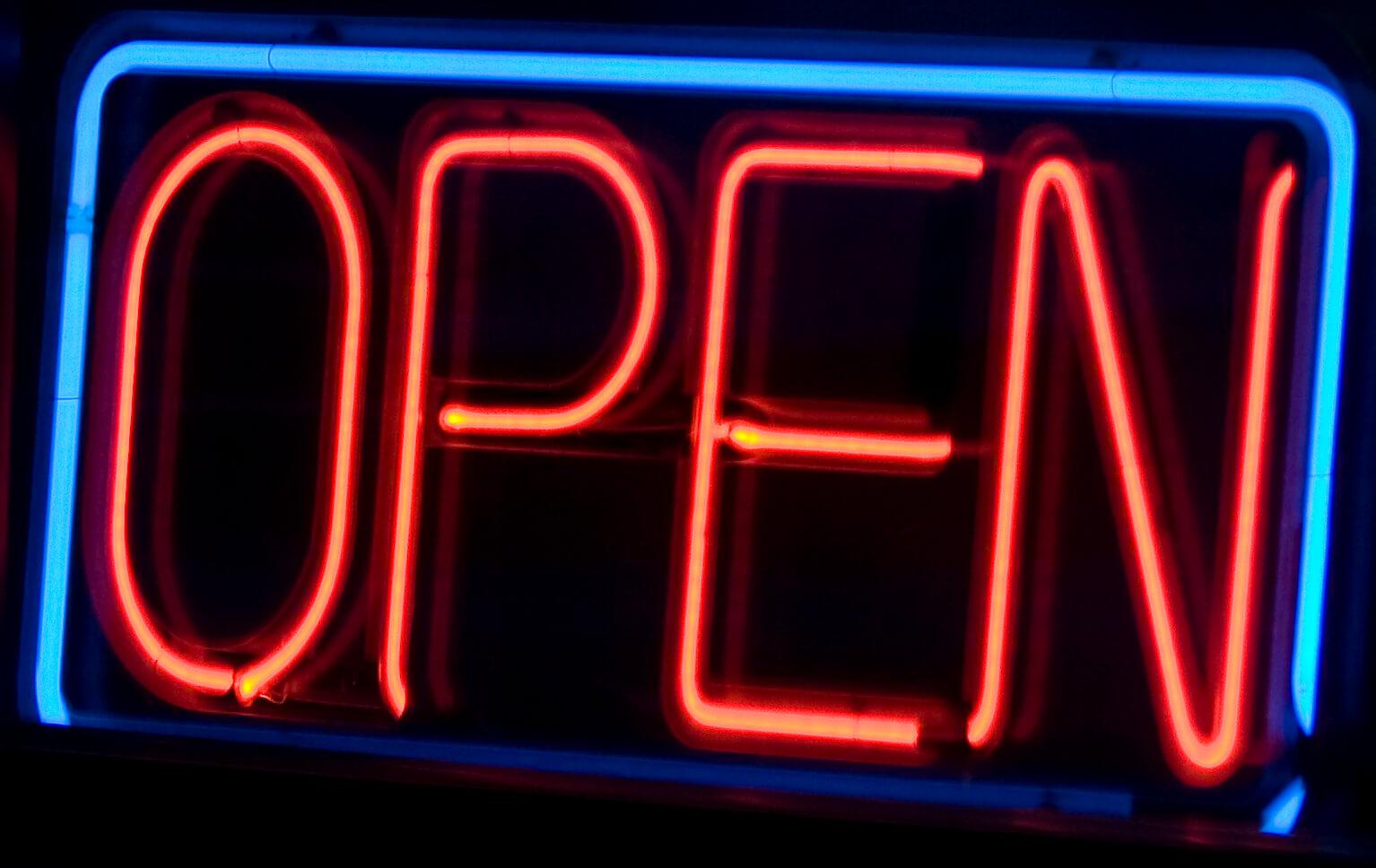 Open Signs By Shine On Renton Kent Bellevue Auburn