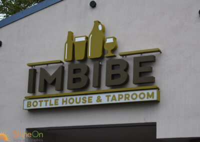 Imbibe Channel Letters 2