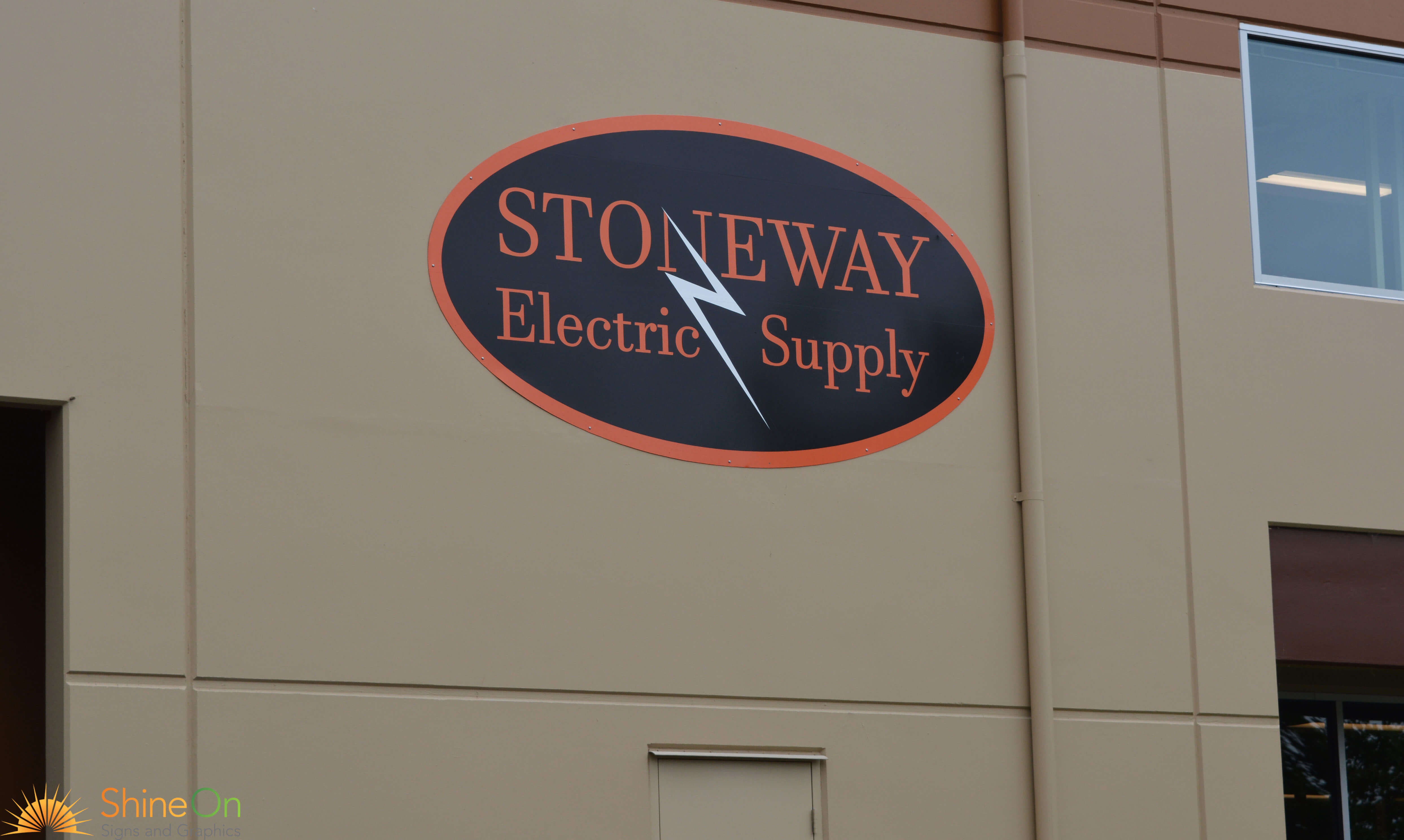 Stoneway Electric Building Sign 8