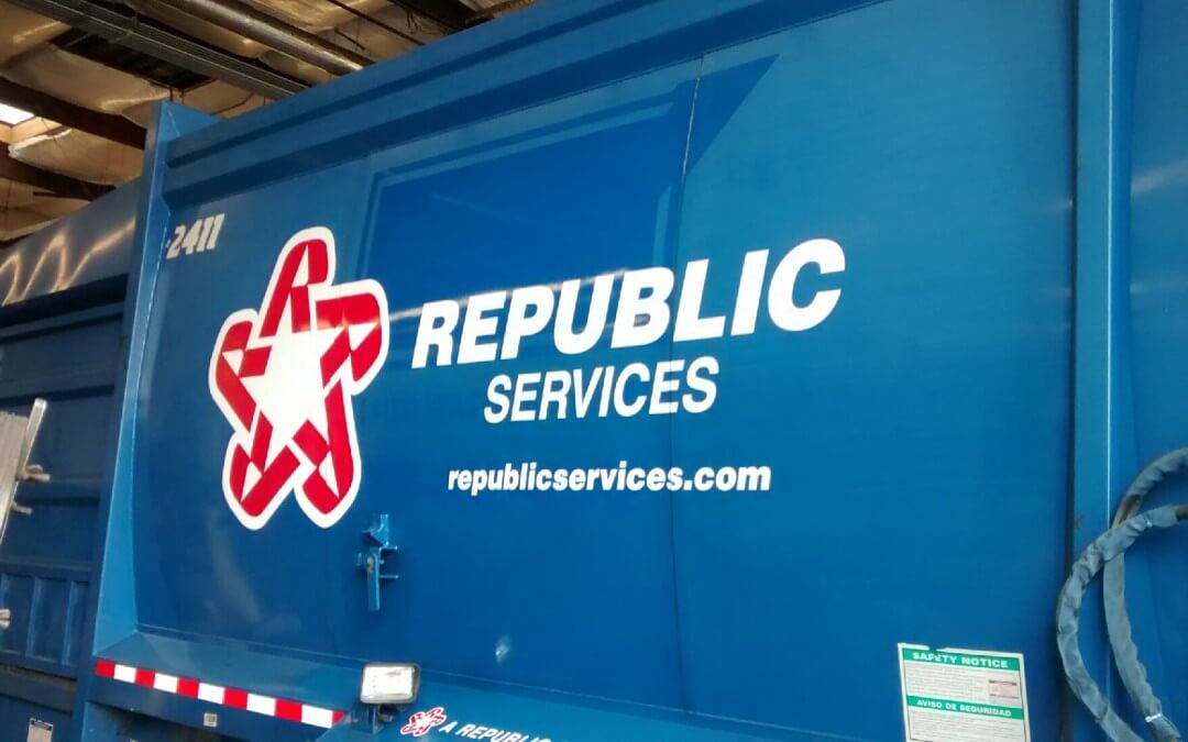 Rebranding with Fleet Graphics in Kent and Seattle