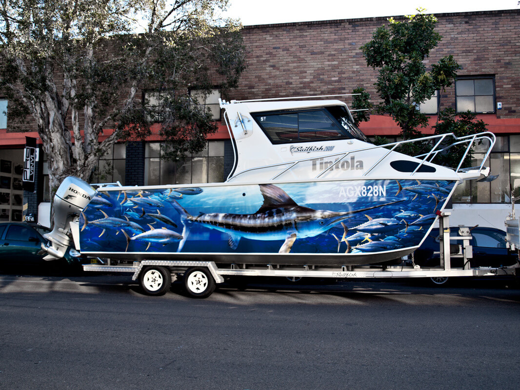 Boat Wraps By Shine On Signs Renton Kent Bellevue