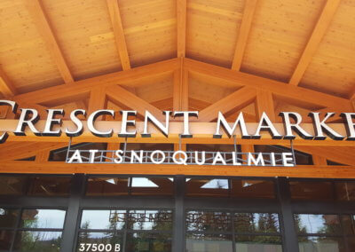 Crescent Market Building Sign (7)