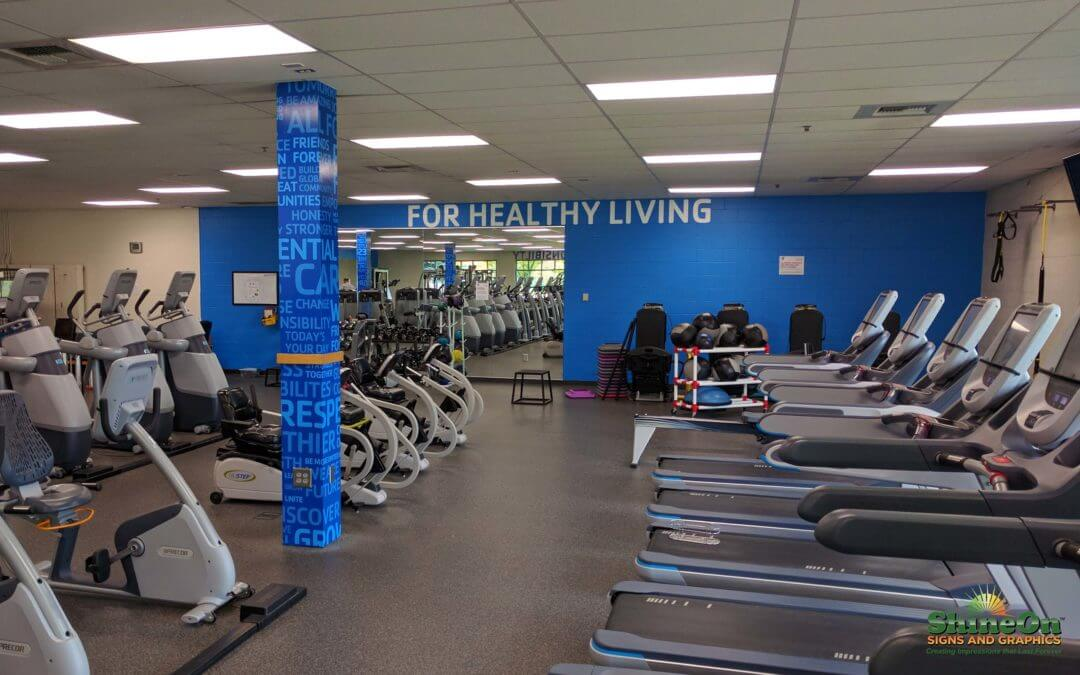 Auburn Wa Fitness Center Signs For The Ymca