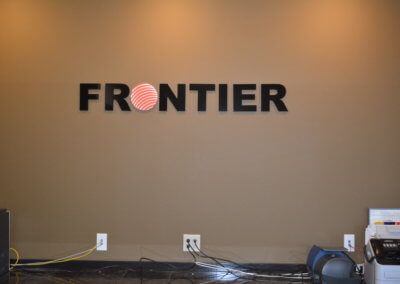Frontier Lobby Sign 1