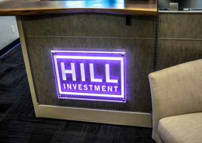 Hill Investment Lobby Sign (2)-2
