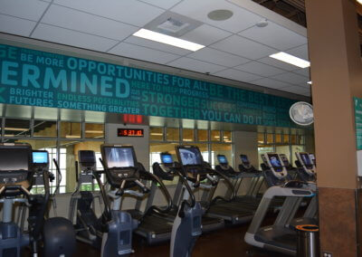 YMCA Gym Wall 28