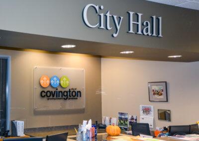 City of Covington Dimensional Letters 1-1
