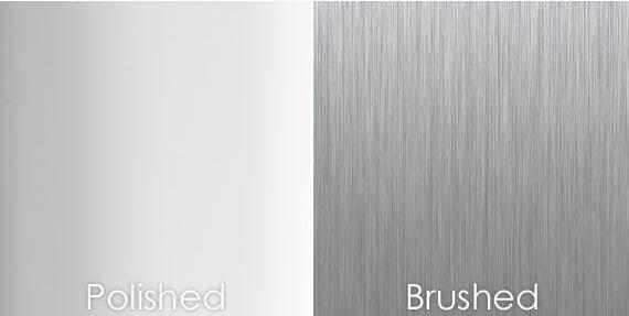 Brushed Vs Polished Shine On Signs